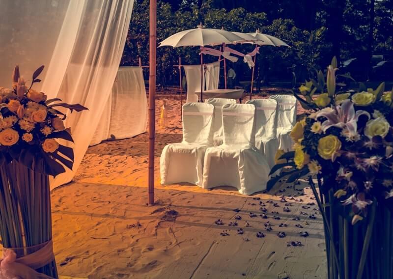 Düğün çevre düzenlemesi